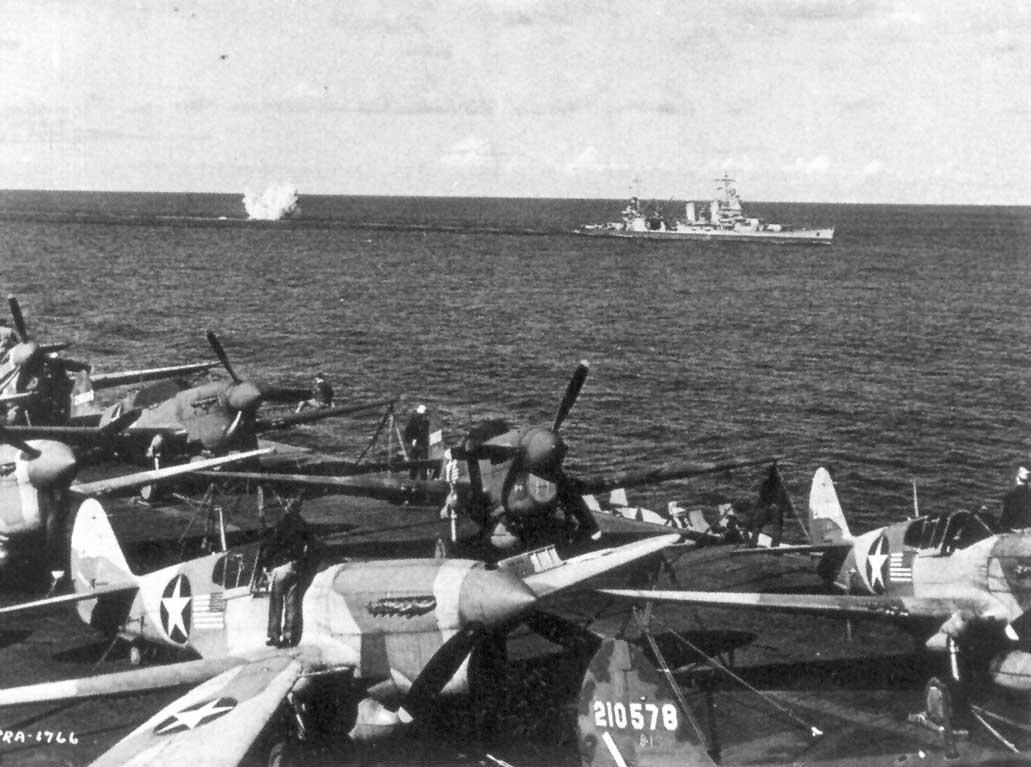 USAAF P-40Fs aboard USS Ranger